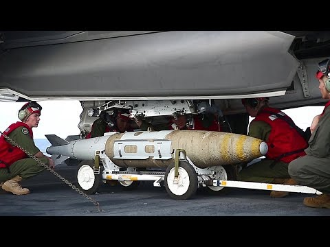 Marines Mount Guided Bombs To F-35Bs