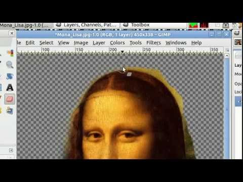 Gimp- Remove Picture Background Tutorial