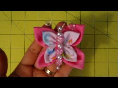 How to make a flower butterfly