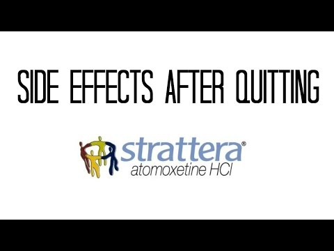 Why Do the Side Effects of Strattera Continue Even After Quitting?