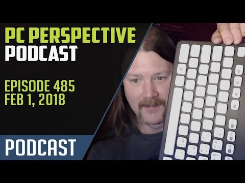 Podcast #485 - Intel and AMD Earnings, Samsung Z-NAND, GDDR6 and more!