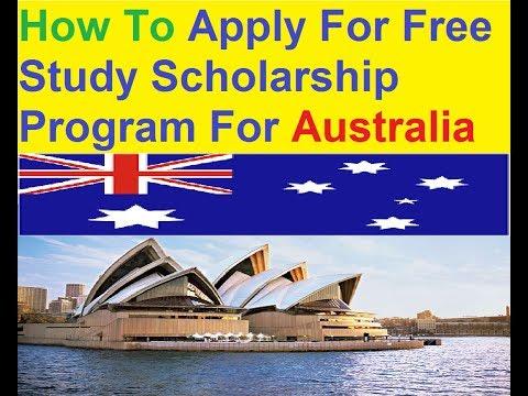 Australia : Free Study Scholarship Program : Apply