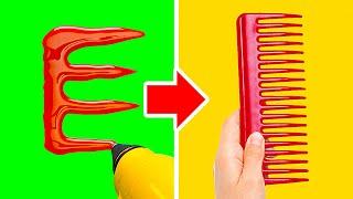 ABSOLUTELY WEIRD DIYs AND CRAFTS || 3D PEN, HOT GLUE, POLYMER CLAY AND GLITTER