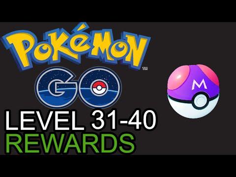 Pokemon Go Level Rewards: Level 31 to 40 - WHERE'S THE MASTERBALLS?