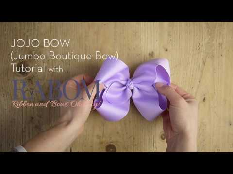 Jumbo JOJO Inspired Bow