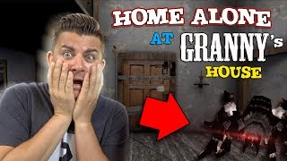 HOME ALONE AT GRANNY'S HOUSE!! Granny 1.5 Update Practice Mode