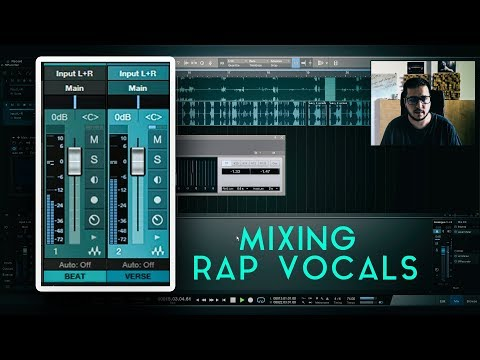 Mixing Rap Vocals | MP3 beat + Vocals Balance | Using mono