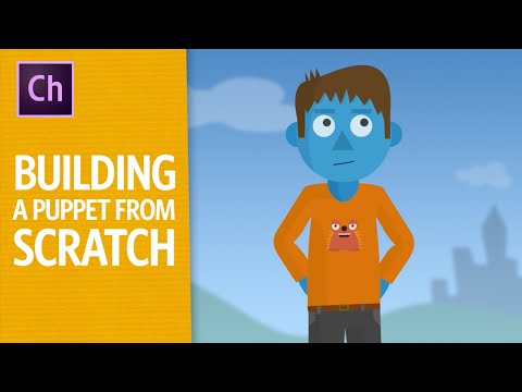 Building A Puppet From Scratch - ARCHIVED (Adobe Character Animator Tutorial)