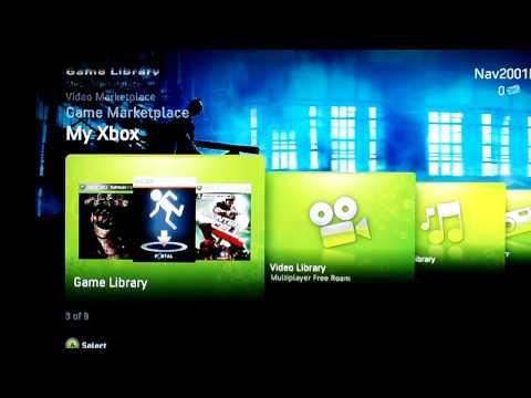 The Dark Knight Theme (Xbox 360 Premium Theme Preview)