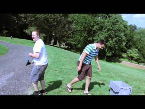 Kaos Catapult 3 Person Water Balloon Slingshot from ThinkGeek
