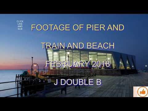 SOUTHEND-ON-SEA  FEB 2018  Pier-Train-Beach