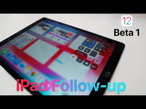 iOS 12 Beta on iPad Pro:   Follow-up (Don't Do It!)