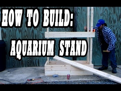 HOW TO: Building a Layered 75 Gallon Stand