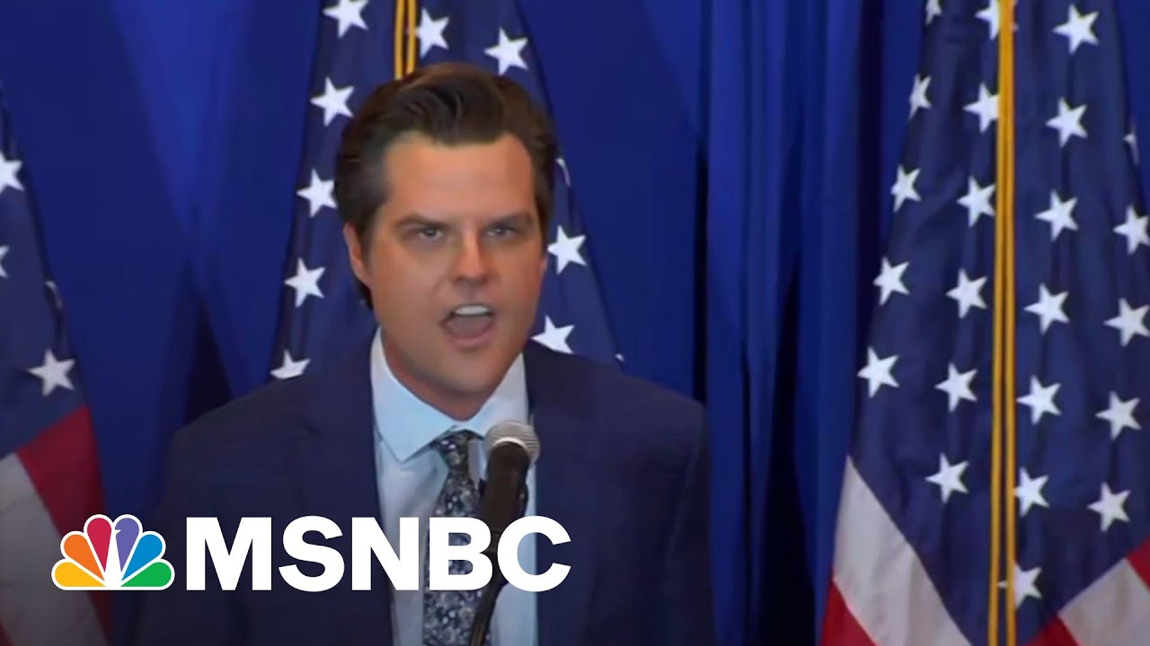 Feds Eye Matt Gaetz's Intern Ex-Girlfriend In Sex Crimes Probe | MSNBC