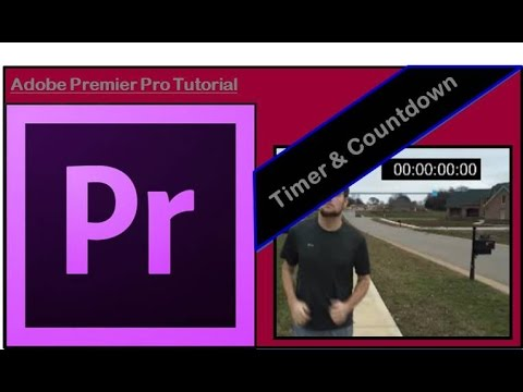 How to add Timer & Countdown clock | Premier Pro Tutorial
