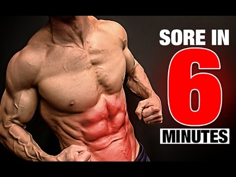Abs Workout (SORE IN 6 MINUTES!)