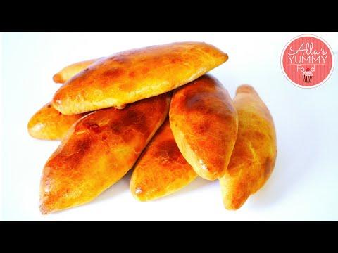 Russian Piroshki with Cabbage | Piroshki Recipe | Пирожки с капустой