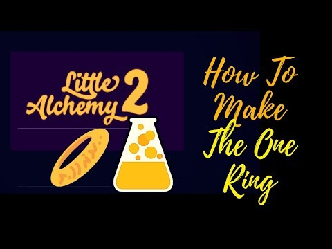 Little Alchemy 2-How To Make The One Ring Cheats & Hints