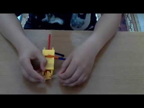 How to make a powerful knex gun