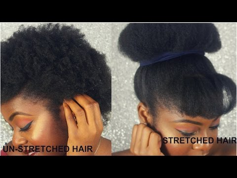 How to Stretch out Natural Hair with NO HEAT | Tomi Popoola