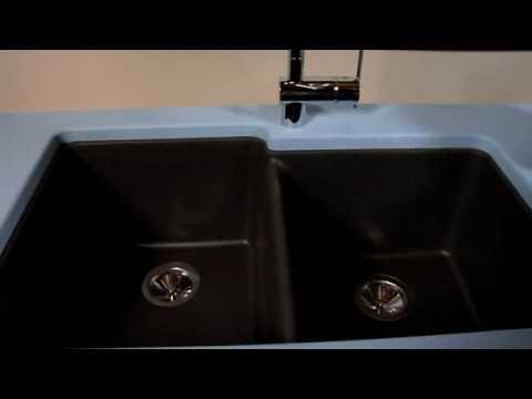 Elkay Gourmet e-granite Double Bowl Sink