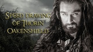 Speed Drawing Of Thorin Oakenshield