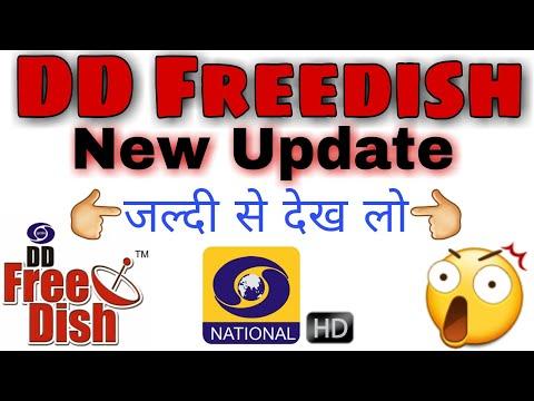 Dd Freedish Big Update | New Channel Added | DD Freedish News | DD National HD