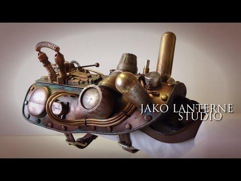 Steampunk time travel prop
