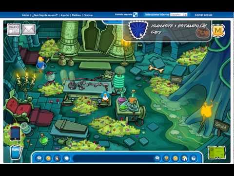 Noche De Brujas En Club Penguin 2010