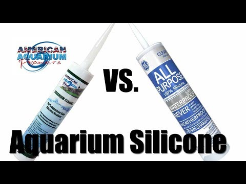 Silicone Sealant | What Aquarium Glass Silicone to Use?