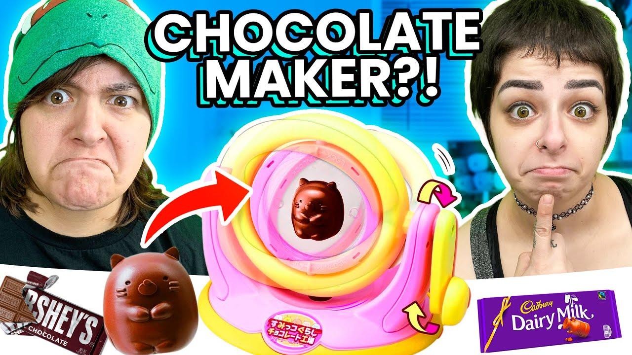 Custom Chocolate?! Cash or Trash? Testing Chocolate Maker Wheel & Aquabeads