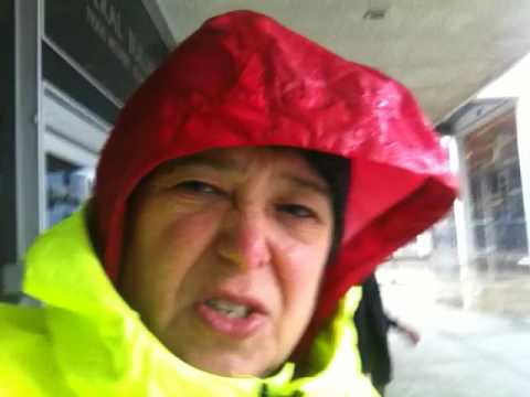 Getting My Passport During Gail Force Winds & Rainstorm (PCT 2017 Prep)