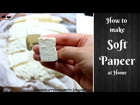 How to make Paneer (Indian Cottage Cheese) at home | Easy Homemade Paneer Recipe