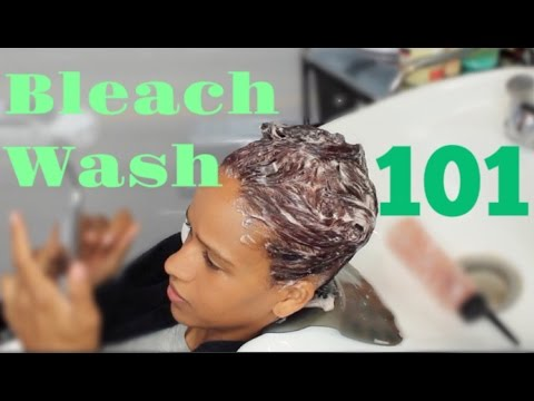 How To: Bleach Wash/Soap Cap | THE SAFEST WAY TO LIGHTEN HAIR