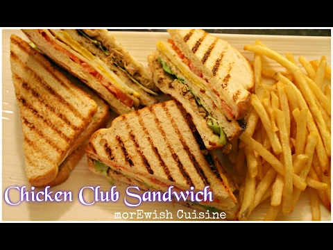 Chicken Club Sandwich | Desi style recipe by morEwish