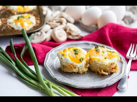 Denver Omelet Egg and Hashbrown Cupcakes