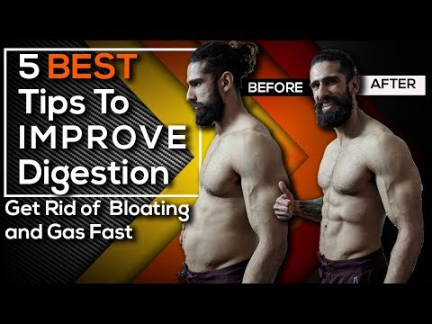 HOW TO IMPROVE DIGESTION (Best Digestion Tips) | Get Rid of BLOATING, GAS and FARTS