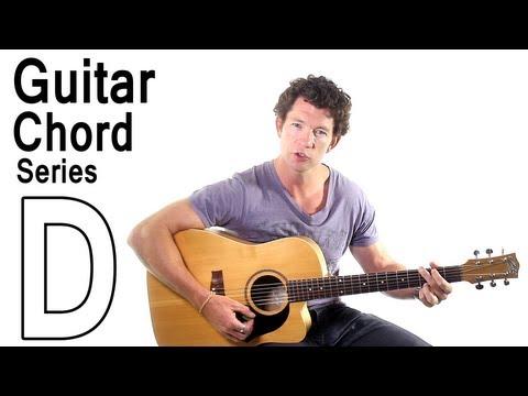 Beginner Guitar Chords 1 - The D Major Chord