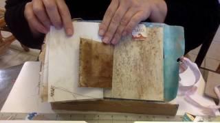 Tea Junk Journal #2 Flip & Paper Clip Embellishment Addiction