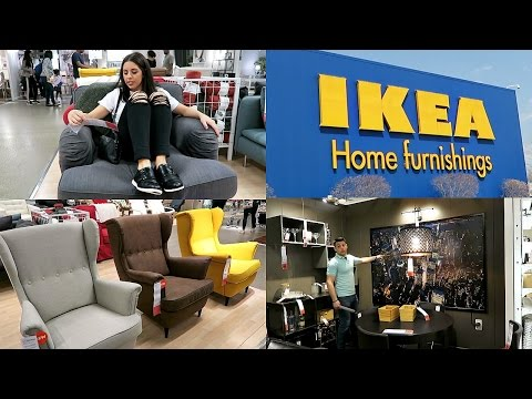 IKEA! SHOP WITH ME! 2017! EPISODE 1