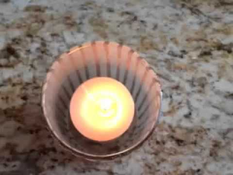 How to Clean Wax from Your Votive Candle Holder