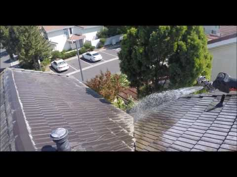 Certified SoftWash Tile Roof Cleaning in Fremont CA