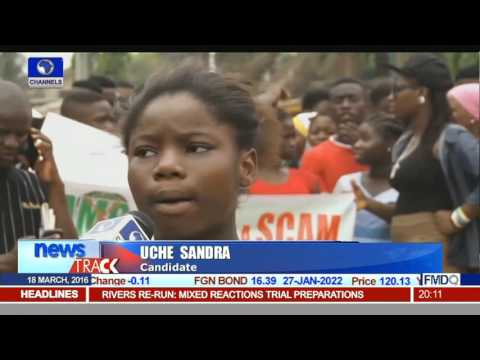 2016 UTME: Candidates Protest Alleged Poor Conduct Of Exam
