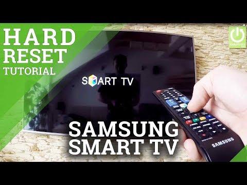 Factory Reset Samsung Smart TV - how to Reset your Samsung TV