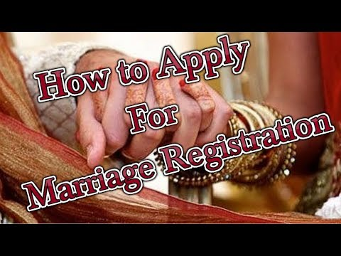 How to register marriage in Delhi | Marriage Certificate Registration in Delhi
