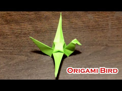 Origami Bird || ‎Origami Flapping Bird || Make Origami Bird Step by Step