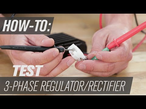 How To Test A 3 Phase Regulator / Rectifier