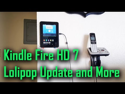 Kindle Fire HD 7 Android Lolipop Update and More
