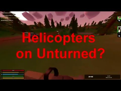 Helicopters on Unturned!?