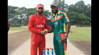 ICC CWC Challenge League Group A | Match 6 | Denmark v Vanuatu | Full match highlights